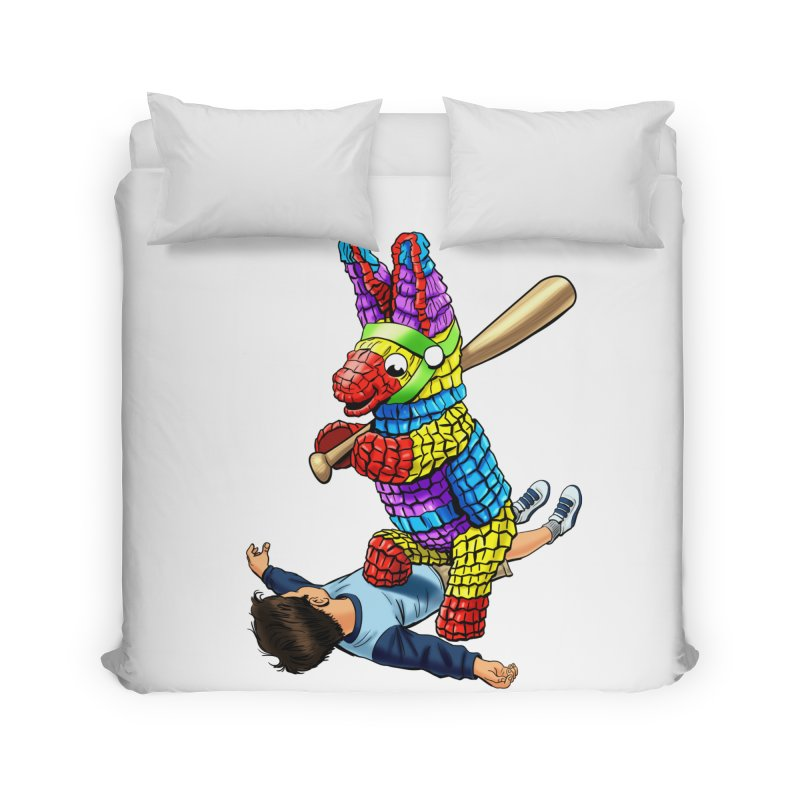 Revenge is Sweet Home Duvet by steveash's Artist Shop