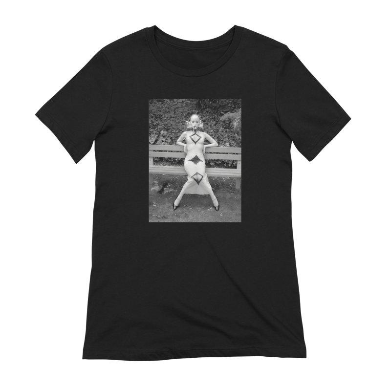 EXTEMPORE Kumi T-Shirt 02 Women's Extra Soft T-Shirt by Steve Diet Goedde's Artist Shop