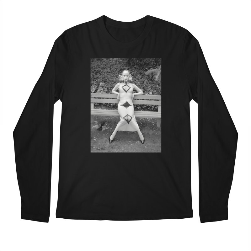 EXTEMPORE Kumi T-Shirt 02 Men's Regular Longsleeve T-Shirt by Steve Diet Goedde's Artist Shop