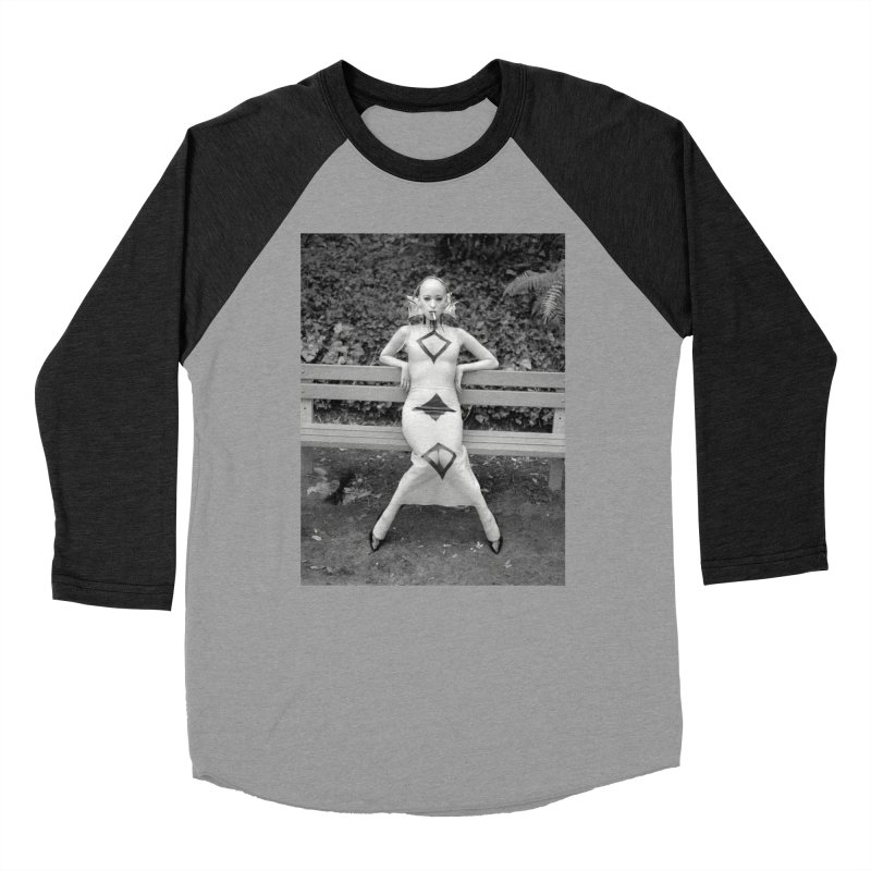 EXTEMPORE Kumi T-Shirt 02 Men's Baseball Triblend Longsleeve T-Shirt by Steve Diet Goedde's Artist Shop