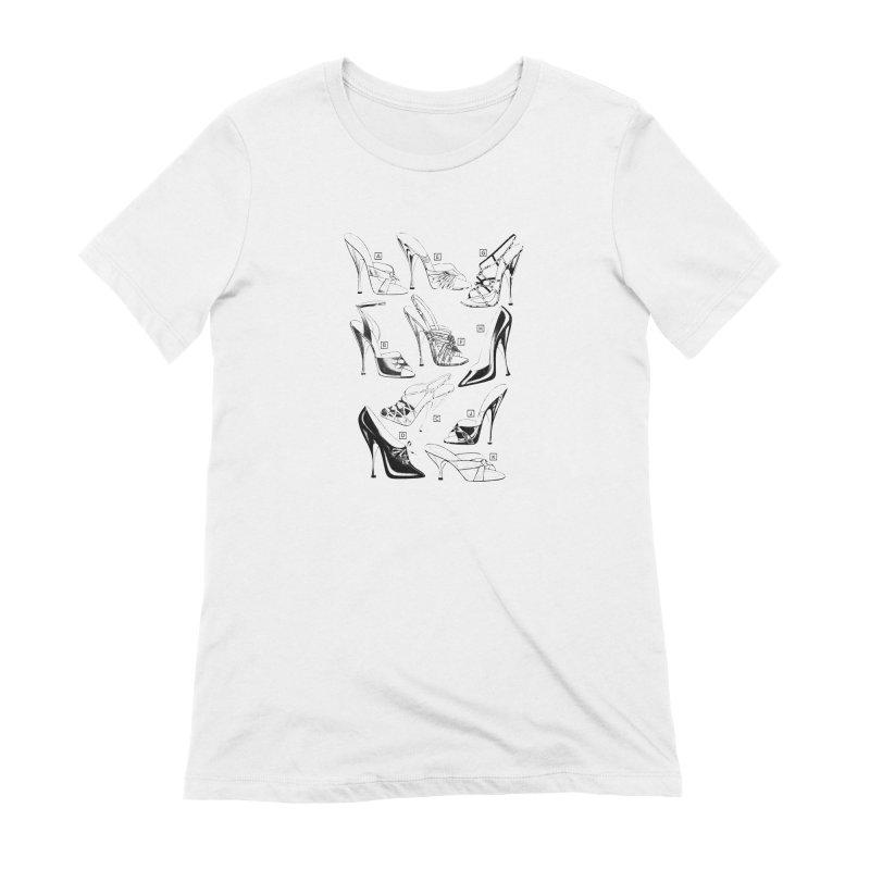 Freddy Heels Women's Extra Soft T-Shirt by Steve Diet Goedde's Artist Shop