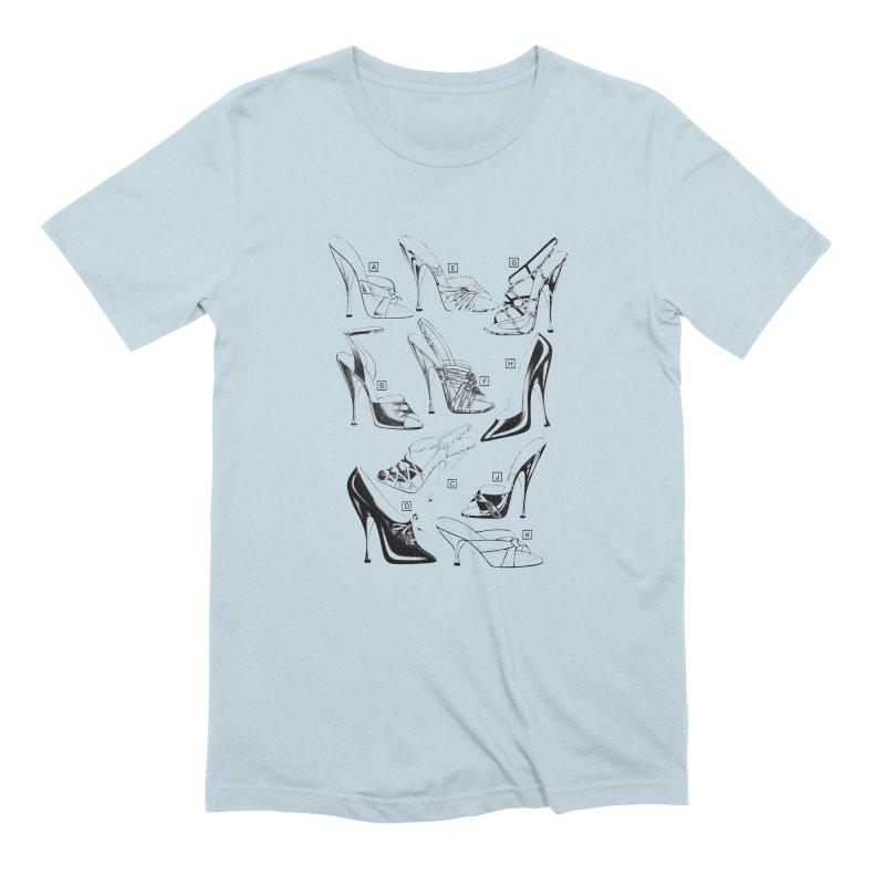 Freddy Heels Men's Extra Soft T-Shirt by Steve Diet Goedde's Artist Shop