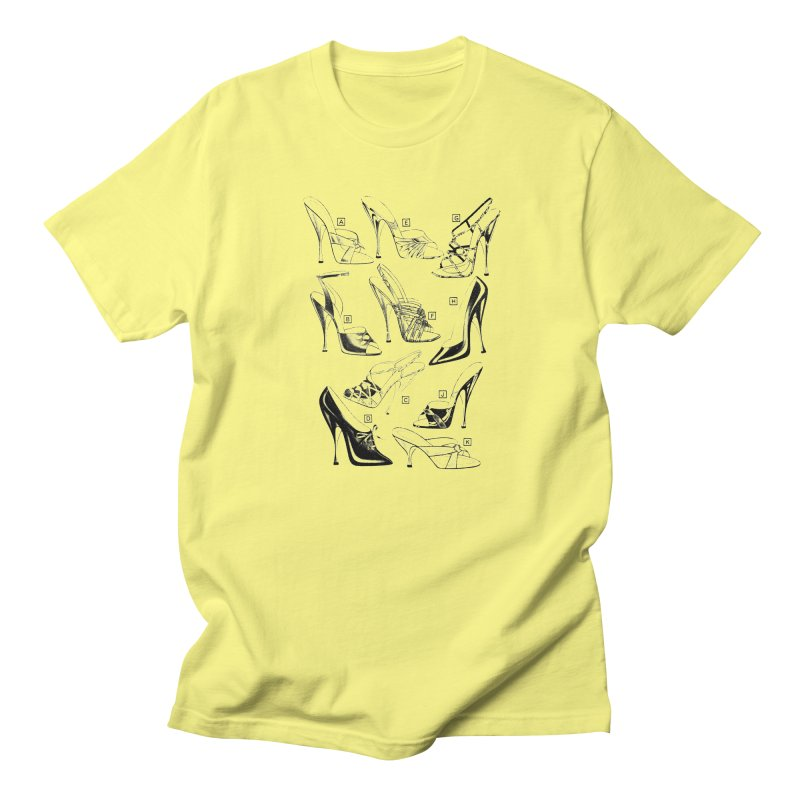 Freddy Heels Men's Regular T-Shirt by Steve Diet Goedde's Artist Shop