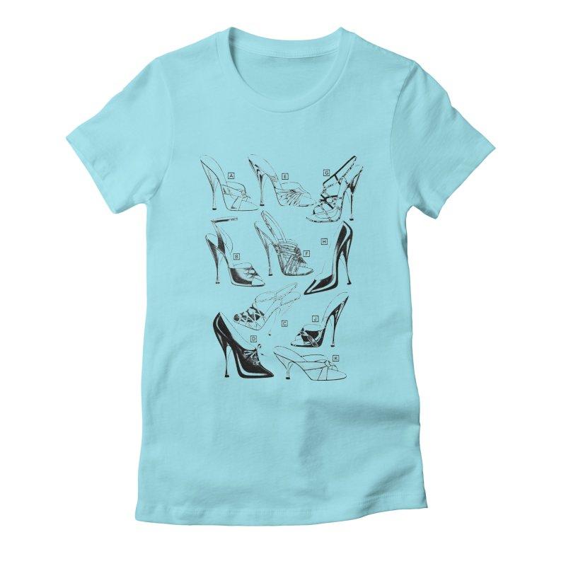 Freddy Heels Women's Fitted T-Shirt by Steve Diet Goedde's Artist Shop