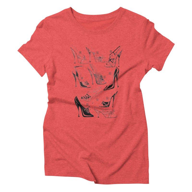 Freddy Heels Women's Triblend T-Shirt by Steve Diet Goedde's Artist Shop