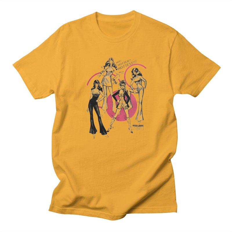 Hot Hotter Hottest Men's Regular T-Shirt by Steve Diet Goedde's Artist Shop