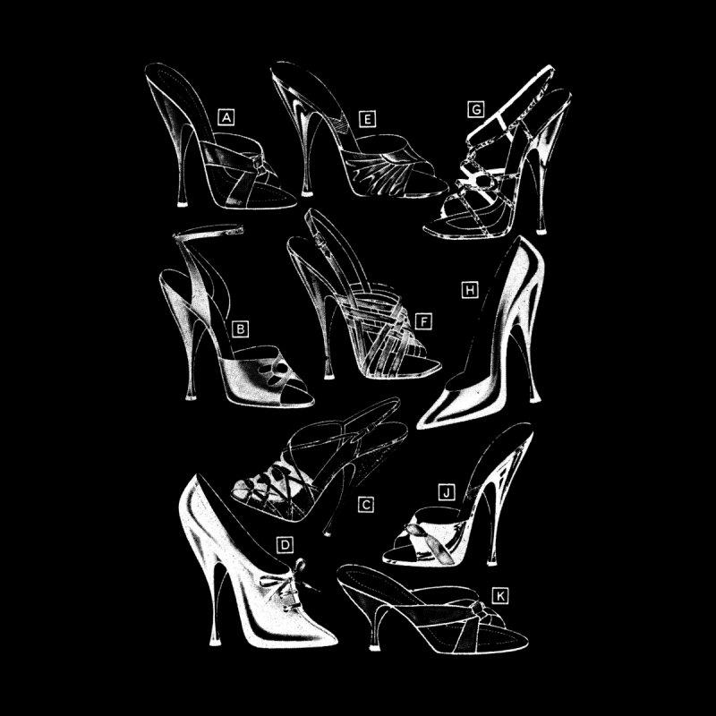 Freddy Heels on Black by Steve Diet Goedde's Artist Shop