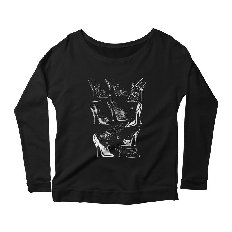 Freddy Heels on Black Women's Scoop Neck Longsleeve T-Shirt by Steve Diet Goedde's Artist Shop
