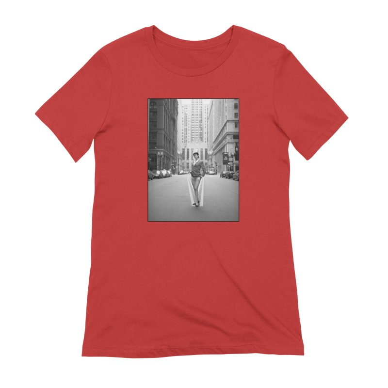 Goedde Marne Lucas Chicago Women's T-Shirt by Steve Diet Goedde's Artist Shop