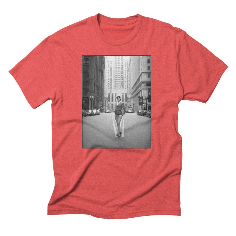 Goedde Marne Lucas Chicago Men's T-Shirt by Steve Diet Goedde's Artist Shop
