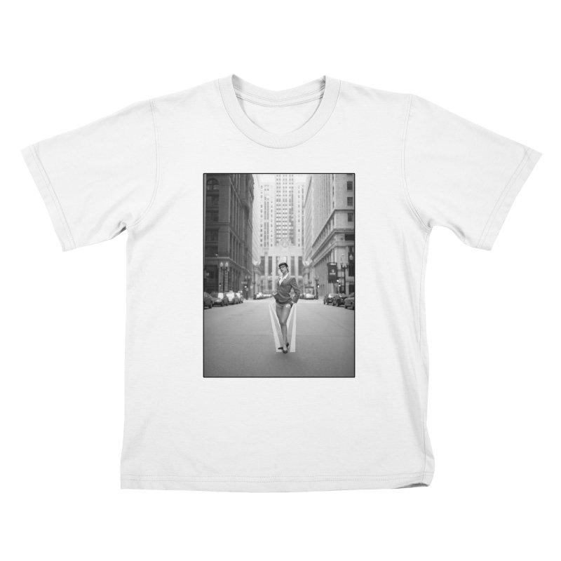 Goedde Marne Lucas Chicago Kids T-Shirt by Steve Diet Goedde's Artist Shop