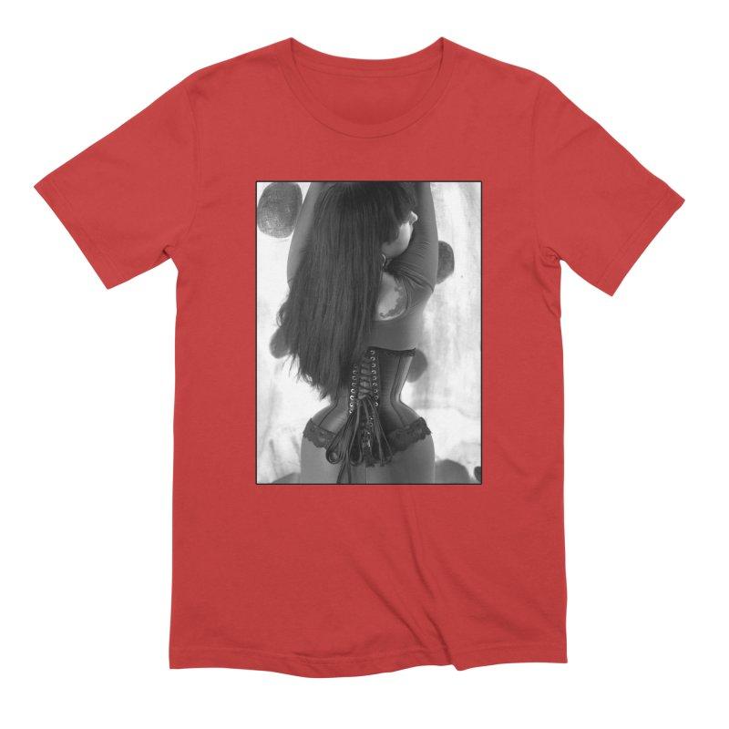 Goedde Molly Corset Men's T-Shirt by Steve Diet Goedde's Artist Shop