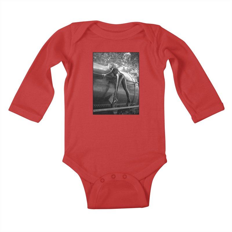 Goedde Pigalle Kids Baby Longsleeve Bodysuit by Steve Diet Goedde's Artist Shop