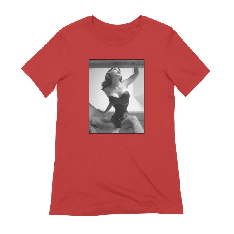 Goedde Masuimi Corset Women's T-Shirt by Steve Diet Goedde's Artist Shop
