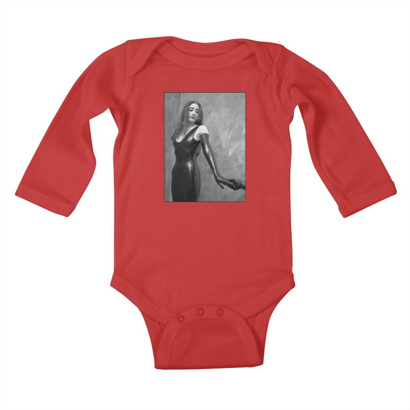 Goedde Annie Kids Baby Longsleeve Bodysuit by Steve Diet Goedde's Artist Shop