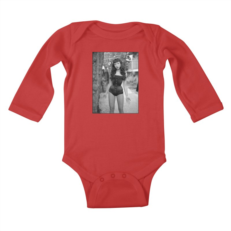 Goedde Lily Kids Baby Longsleeve Bodysuit by Steve Diet Goedde's Artist Shop