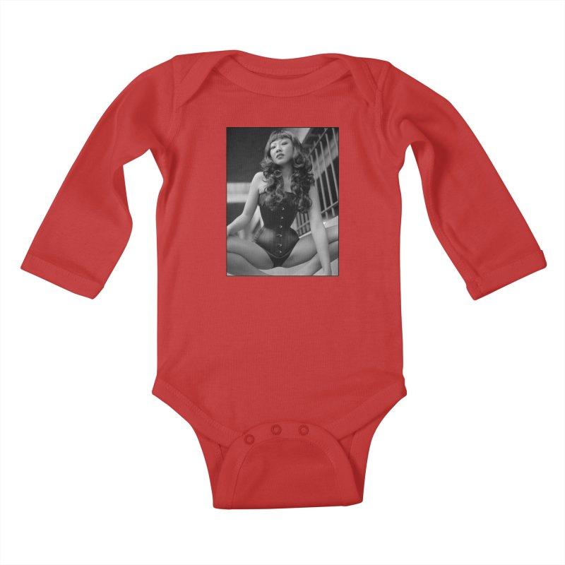 Goedde Lily 02 Kids Baby Longsleeve Bodysuit by Steve Diet Goedde's Artist Shop