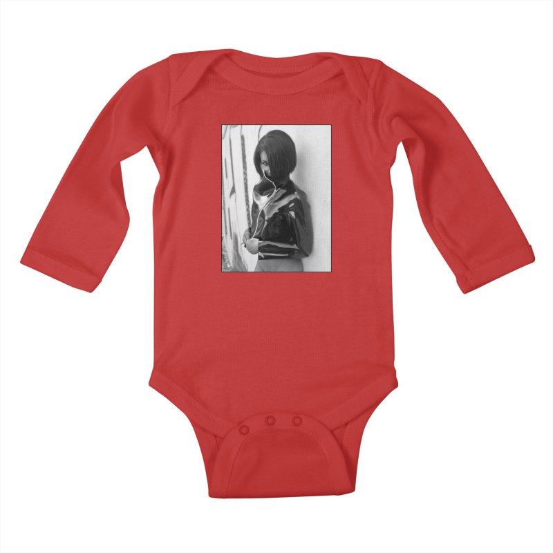 Madame Skin Diamond Kids Baby Longsleeve Bodysuit by Steve Diet Goedde's Artist Shop
