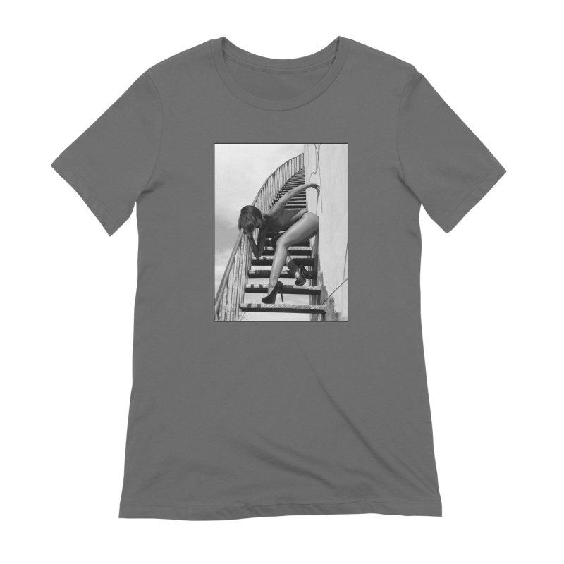 Madame Skin Diamond Stairs Women's T-Shirt by Steve Diet Goedde's Artist Shop