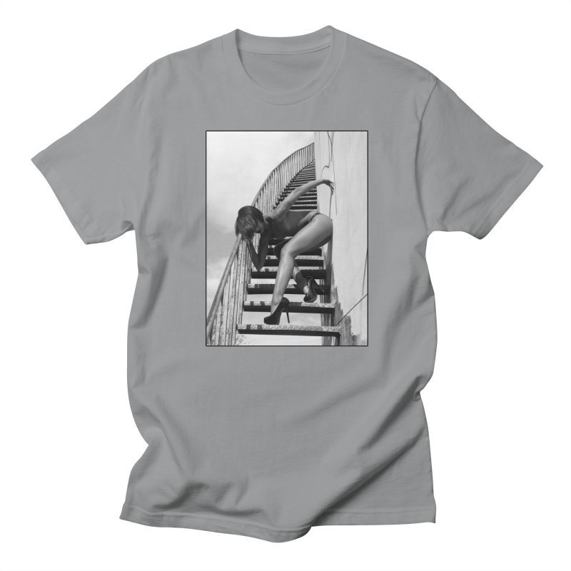 Madame Skin Diamond Stairs Men's T-Shirt by Steve Diet Goedde's Artist Shop