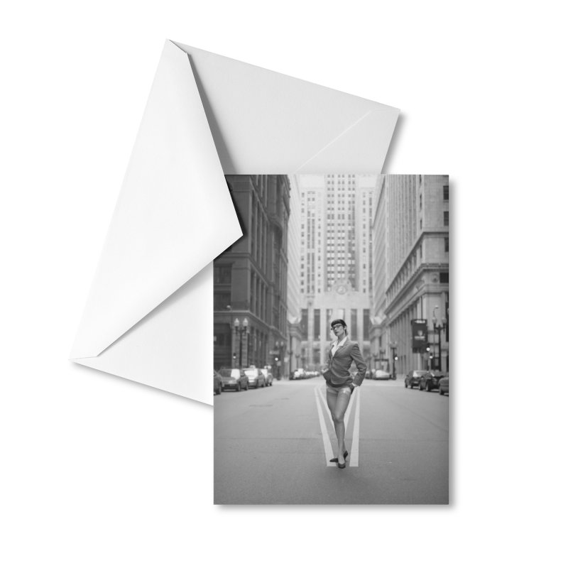 Marne in Chicago Greeting Card Accessories Greeting Card by Steve Diet Goedde's Artist Shop