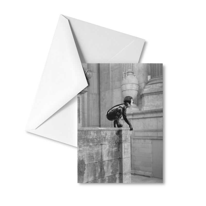 Midori Gargoyle Greeting Card Accessories Greeting Card by Steve Diet Goedde's Artist Shop