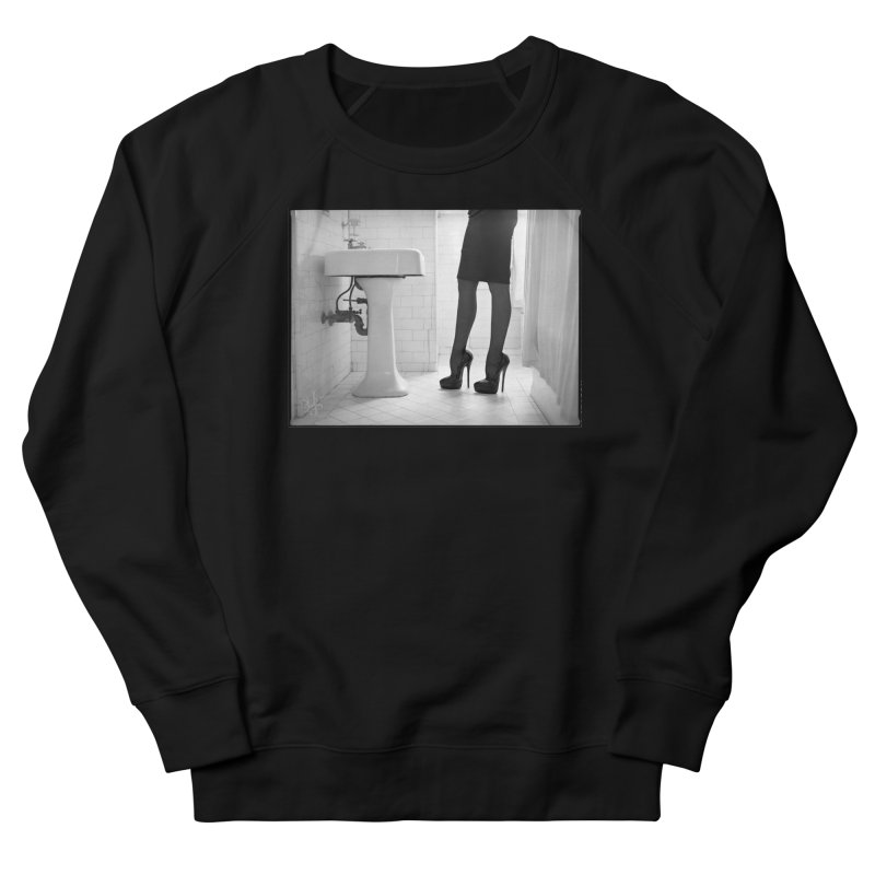 SDG Heels Series - Violette Men's French Terry Sweatshirt by Steve Diet Goedde's Artist Shop