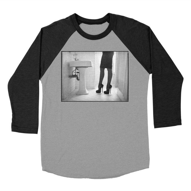 SDG Heels Series - Violette Women's Baseball Triblend Longsleeve T-Shirt by Steve Diet Goedde's Artist Shop