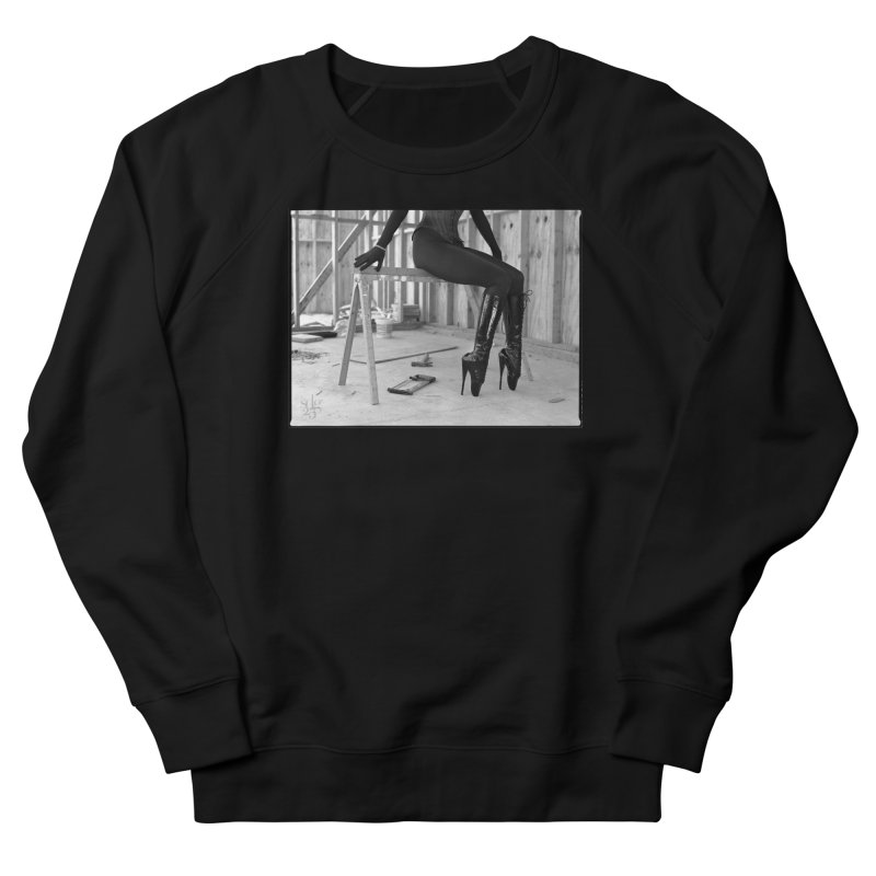 SDG Heels Series - Alsana Sin Men's French Terry Sweatshirt by Steve Diet Goedde's Artist Shop