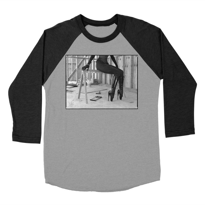 SDG Heels Series - Alsana Sin Women's Baseball Triblend Longsleeve T-Shirt by Steve Diet Goedde's Artist Shop