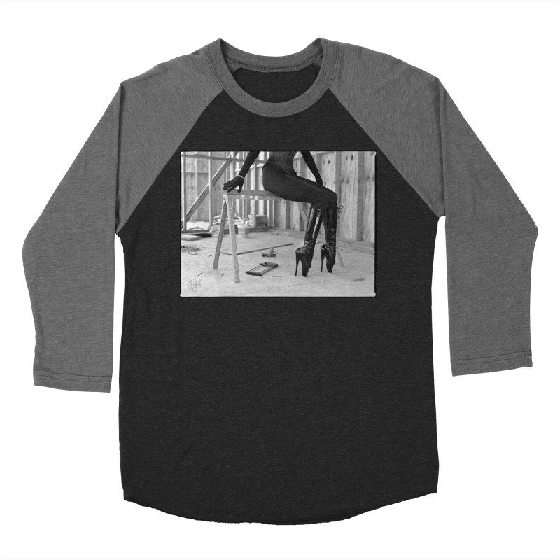SDG Heels Series - Alsana Sin Men's Baseball Triblend Longsleeve T-Shirt by Steve Diet Goedde's Artist Shop