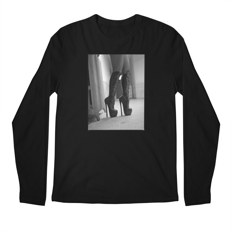SDG Heels Series - Midori Men's Regular Longsleeve T-Shirt by Steve Diet Goedde's Artist Shop