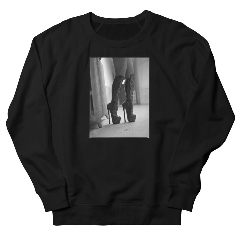 SDG Heels Series - Midori Men's French Terry Sweatshirt by Steve Diet Goedde's Artist Shop