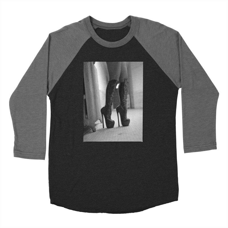 SDG Heels Series - Midori Men's Baseball Triblend Longsleeve T-Shirt by Steve Diet Goedde's Artist Shop