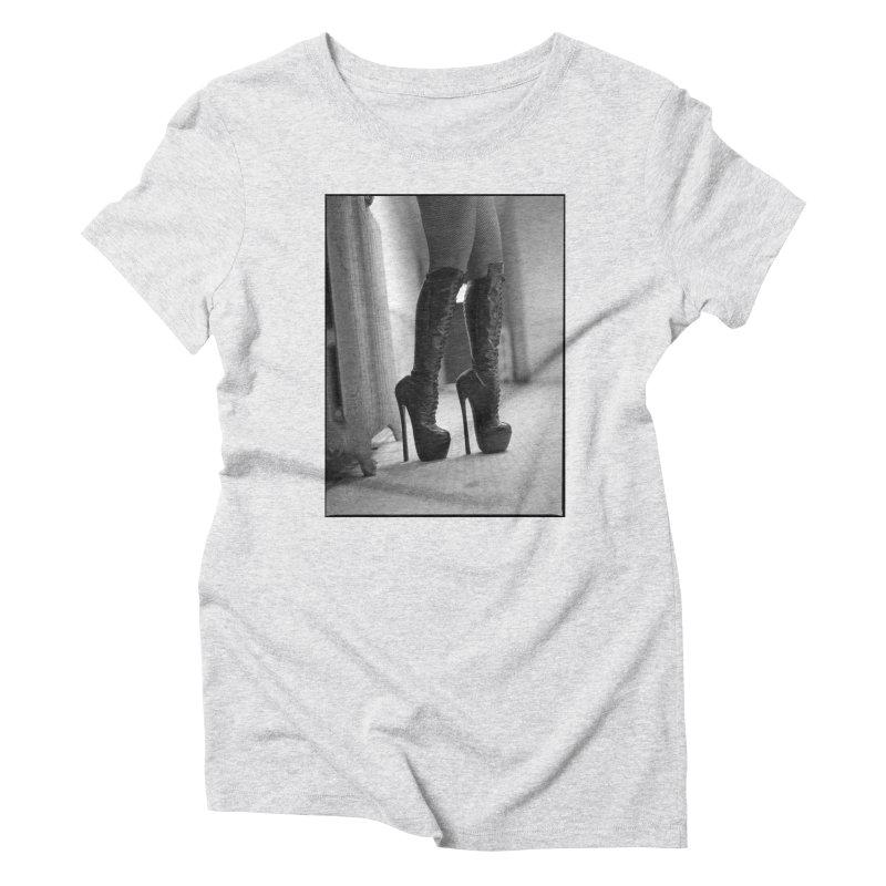 SDG Heels Series - Midori Women's Triblend T-Shirt by stevedietgoedde's Artist Shop