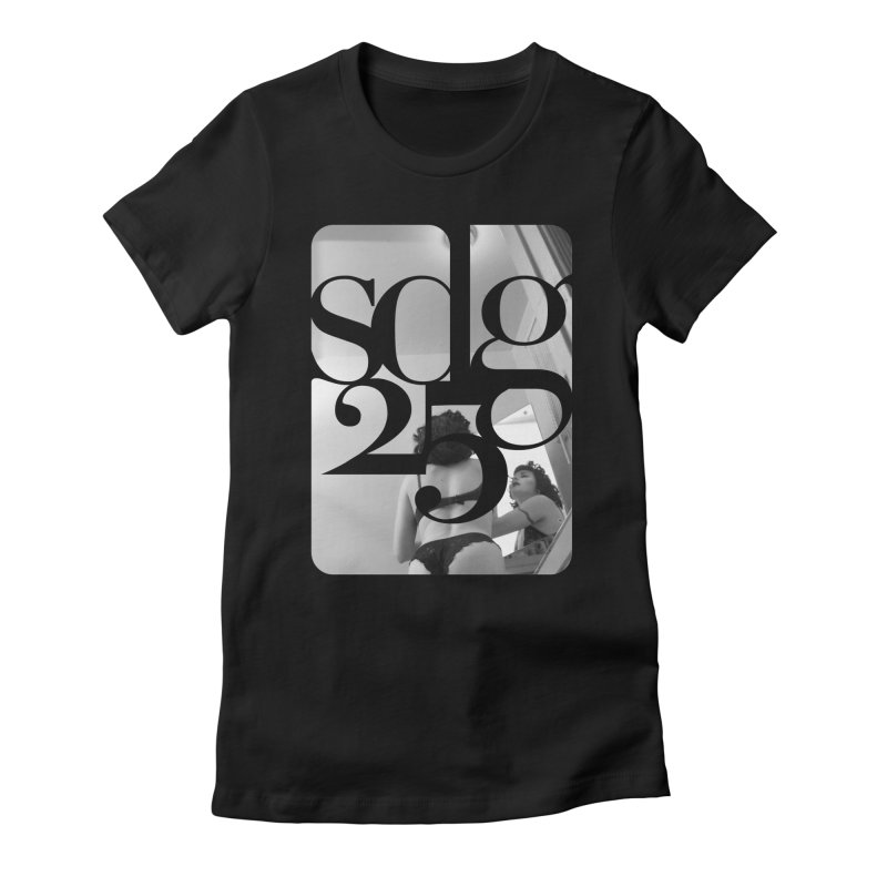 Steve Diet Goedde - Yvette SDG25 Women's Fitted T-Shirt by Steve Diet Goedde's Artist Shop