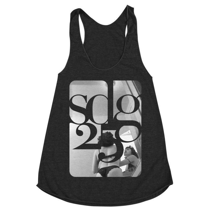 Steve Diet Goedde - Yvette SDG25 Women's Racerback Triblend Tank by Steve Diet Goedde's Artist Shop