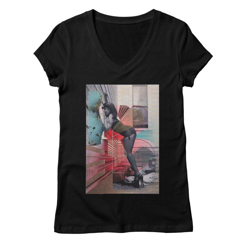 Goedde & Couwenberg - Tuula Women's V-Neck by Steve Diet Goedde's Artist Shop
