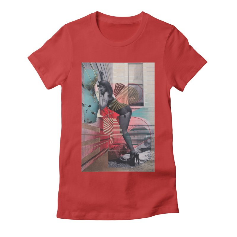 Goedde & Couwenberg - Tuula Women's Fitted T-Shirt by Steve Diet Goedde's Artist Shop