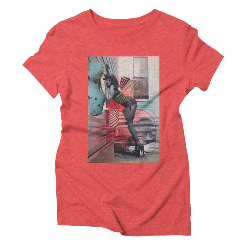Goedde & Couwenberg - Tuula Women's Triblend T-Shirt by stevedietgoedde's Artist Shop