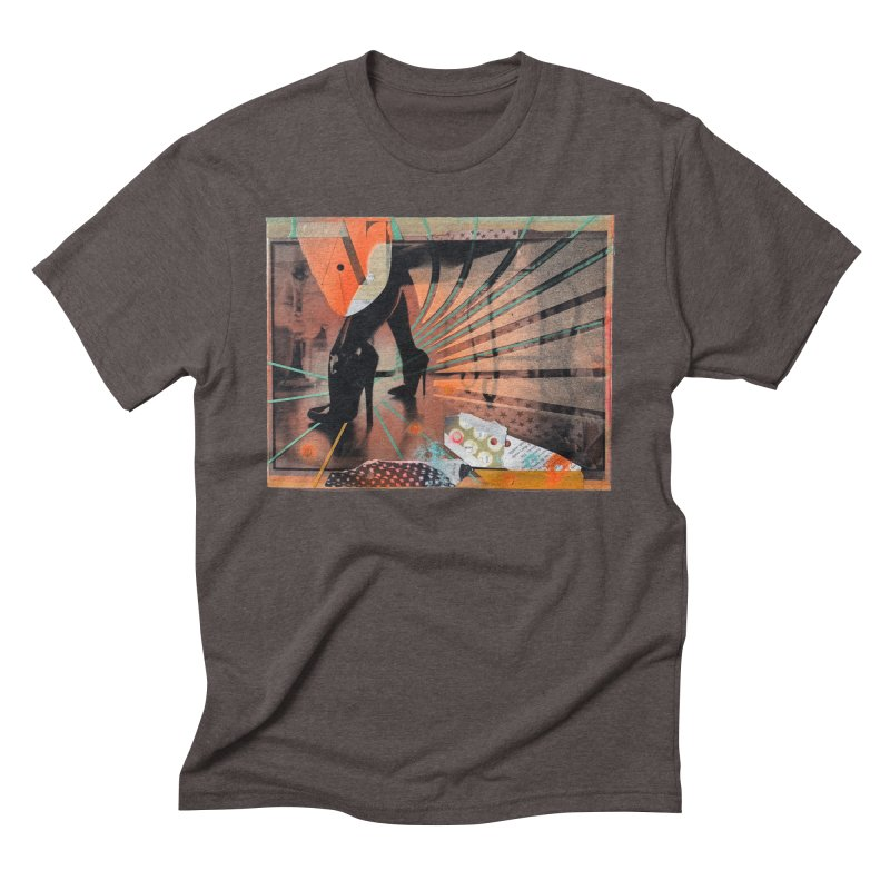 Goedde & Couwenberg - Christine Adams Men's Triblend T-Shirt by steve diet goedde's Artist Shop