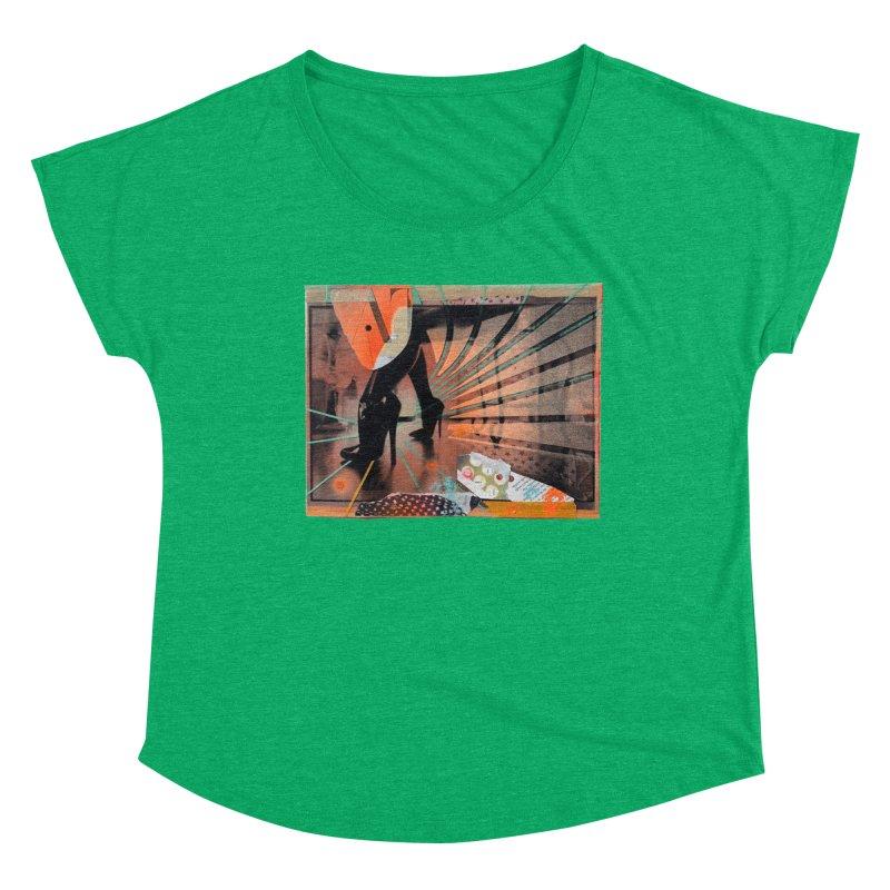 Goedde & Couwenberg - Christine Adams Women's Dolman Scoop Neck by Steve Diet Goedde's Artist Shop