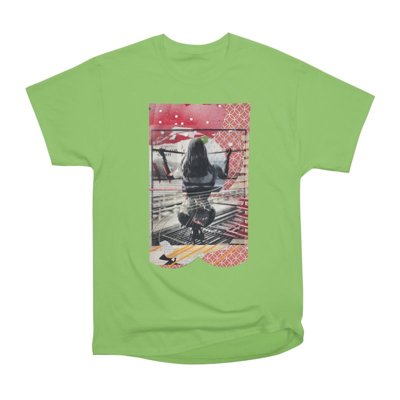 Goedde & Couwenberg - Anna Women's Heavyweight Unisex T-Shirt by Steve Diet Goedde's Artist Shop