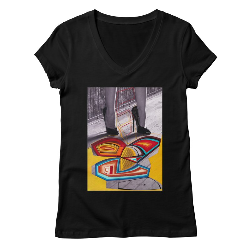 Goedde & Cowenberg - Mika Lovely Women's V-Neck by Steve Diet Goedde's Artist Shop