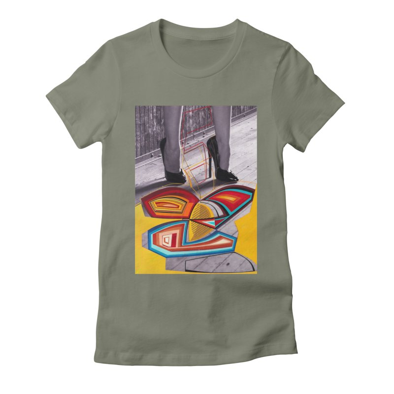 Goedde & Cowenberg - Mika Lovely Women's Fitted T-Shirt by Steve Diet Goedde's Artist Shop