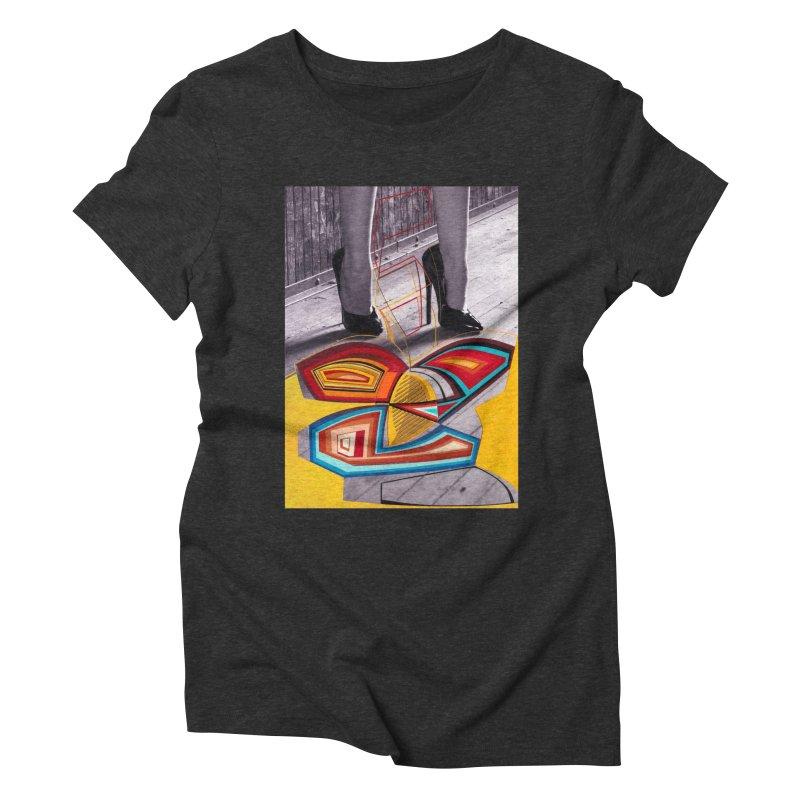 Goedde & Cowenberg - Mika Lovely Women's Triblend T-Shirt by Steve Diet Goedde's Artist Shop