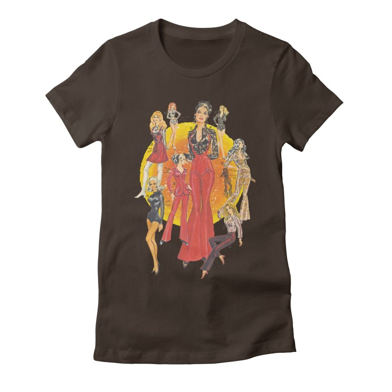 Groovy Women's Fitted T-Shirt by Steve Diet Goedde's Artist Shop