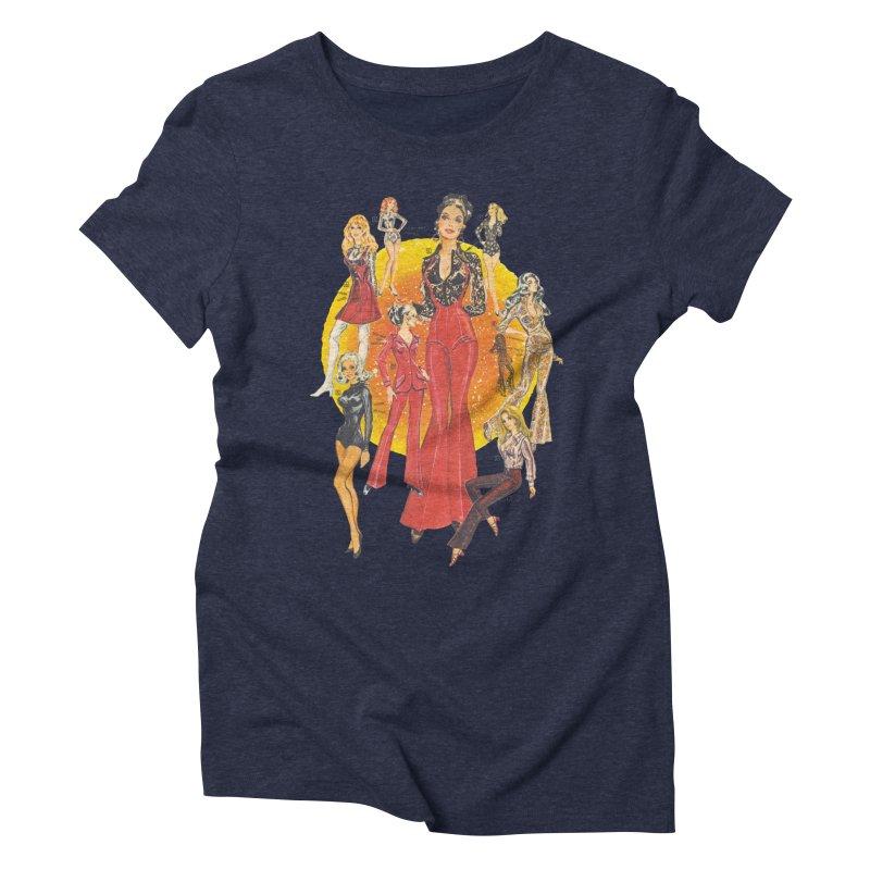 Groovy Women's Triblend T-Shirt by stevedietgoedde's Artist Shop