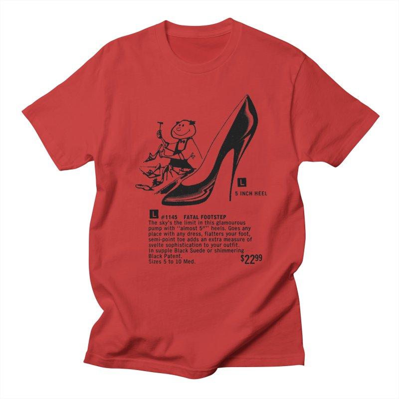 Fatal Footsteps Men's Regular T-Shirt by stevedietgoedde's Artist Shop