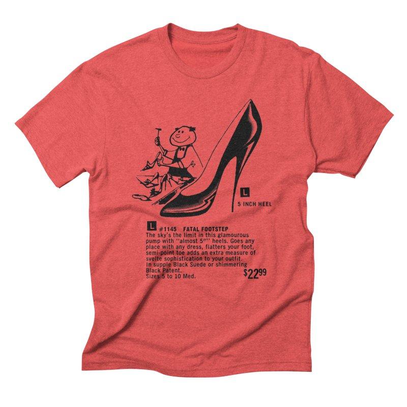 Fatal Footsteps Men's  by stevedietgoedde's Artist Shop